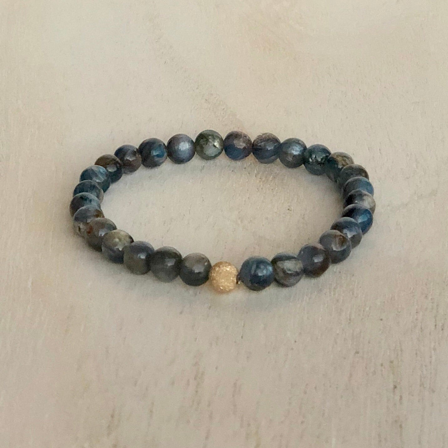 Kyanite power bracelet