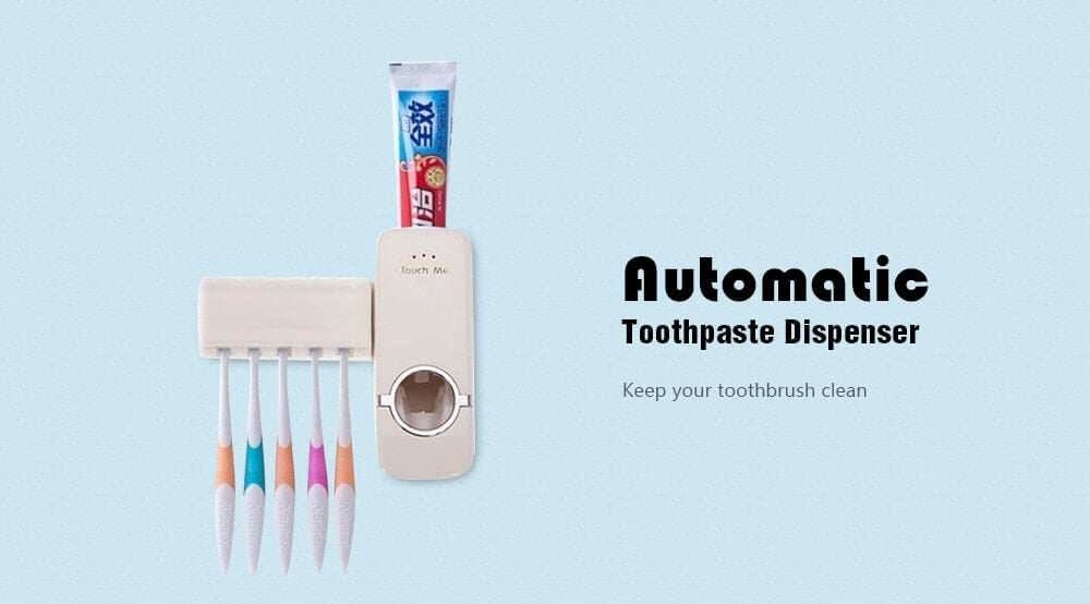 toothpaste and toothbrush holder