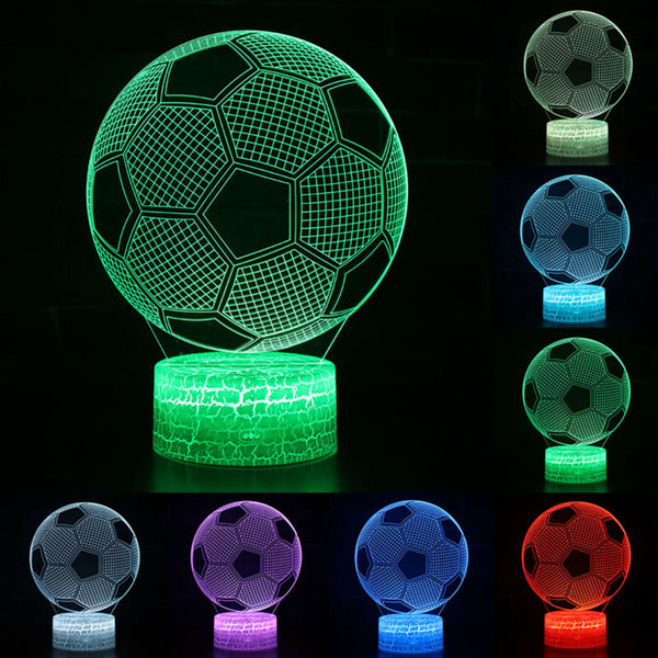 soccer ball night light