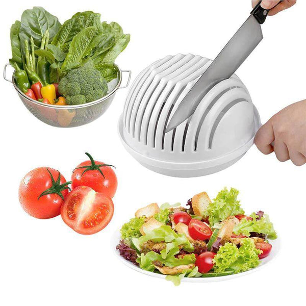 salad chopper and bowl