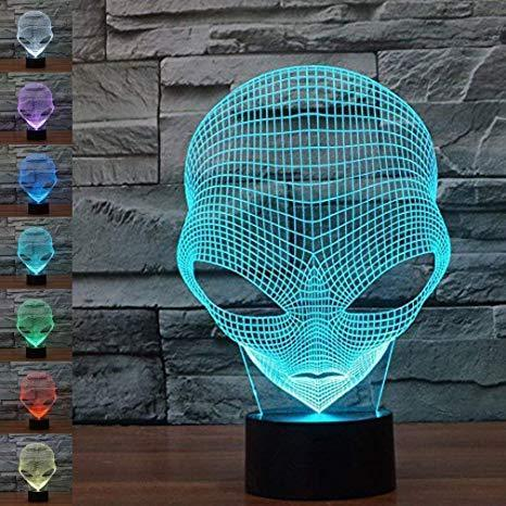 All For Hobbies 3D Alien Lamp