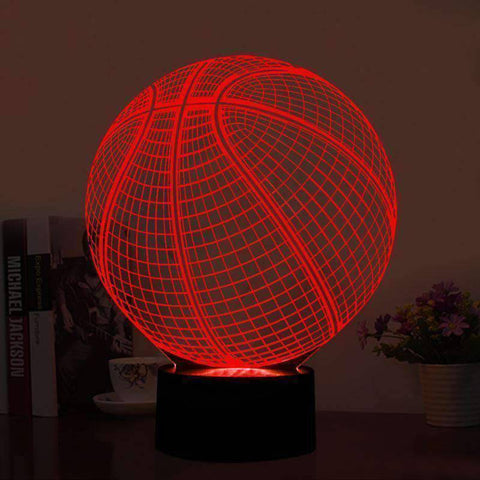 All For Hobbies 3D LED Basketball Lamp
