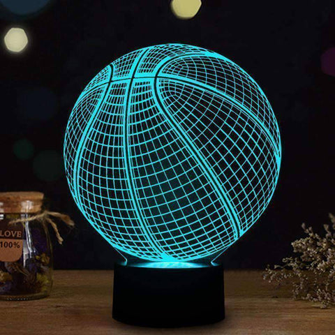 3D Basketball Lamp