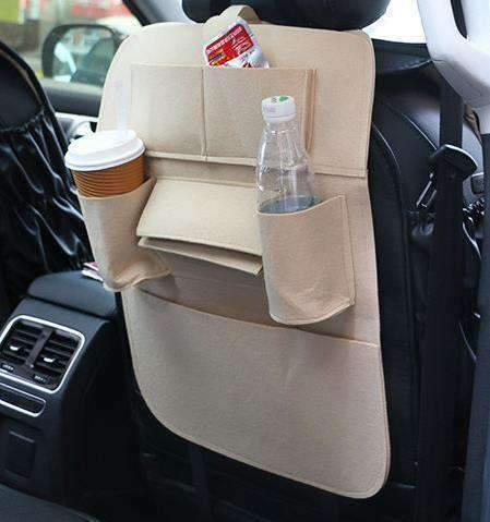 Image of All For Hobbies Beige Back Seat Storage Organizer