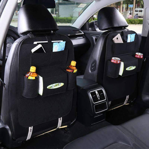 All For Hobbies Black Back Seat Storage Organizer