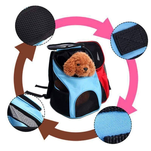 All For Hobbies Pet Travel Backpack