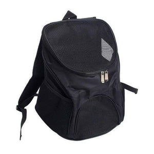 All For Hobbies Black / One Size Pet Travel Backpack