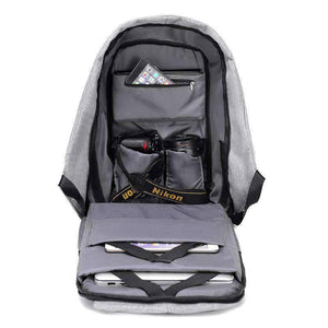 All For Hobbies Travel Anti Theft Backpack