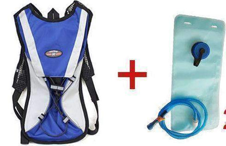 All For Hobbies Blue add 2L bag Water Backpack