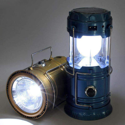 Image of All For Hobbies Blue Rechargeable LED Camping Lantern