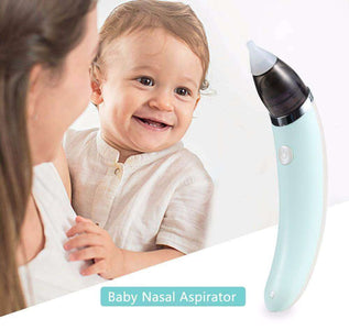 All For Hobbies Blue Electronic Baby Nasal Aspirator