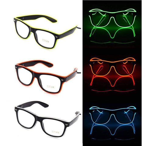 Image of Glasses - Flashing LED Glasses