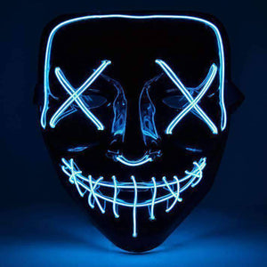 All For Hobbies Blue LED Purge Mask