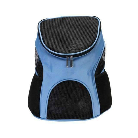 All For Hobbies Blue / One Size Pet Travel Backpack