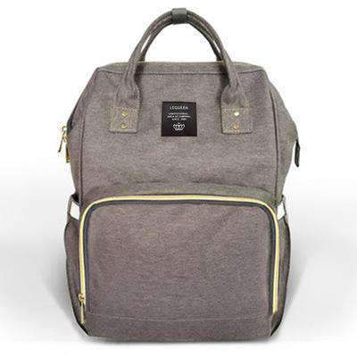 Image of All For Hobbies deep gray Baby Diaper Backpack