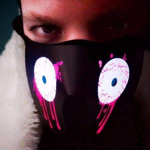Image of light up eyes mask
