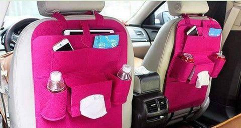 Image of All For Hobbies Fuschia Back Seat Storage Organizer