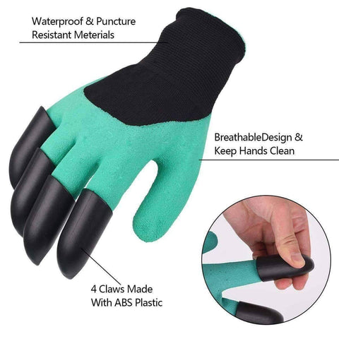 Image of All For Hobbies Garden Gloves With Claws