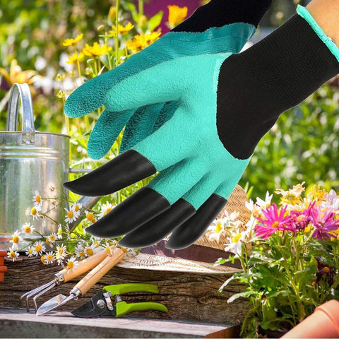 All For Hobbies Garden Gloves With Claws