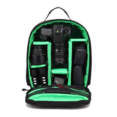Image of All For Hobbies Green Ultimate Camera Backpack