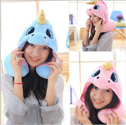 Image of All For Hobbies Hooded Unicorn Nick Pillow