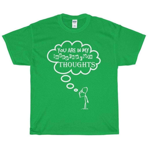 All For Hobbies Irish Green / S Inappropriate Thoughts Tee