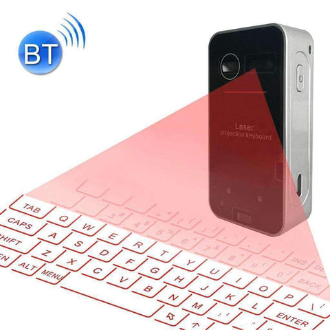 Laser Projection Keyboard