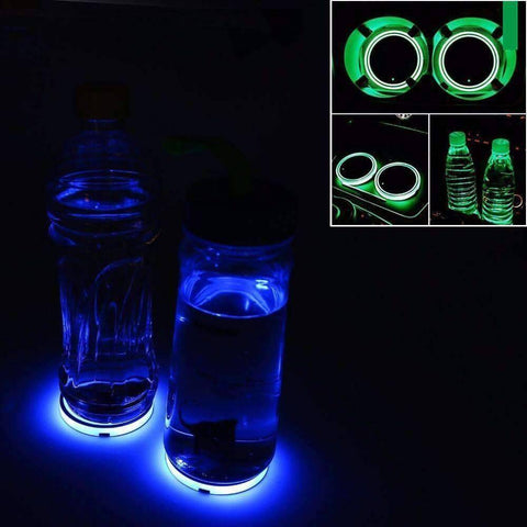 LED Cup Holder Lights (Pack of 2)