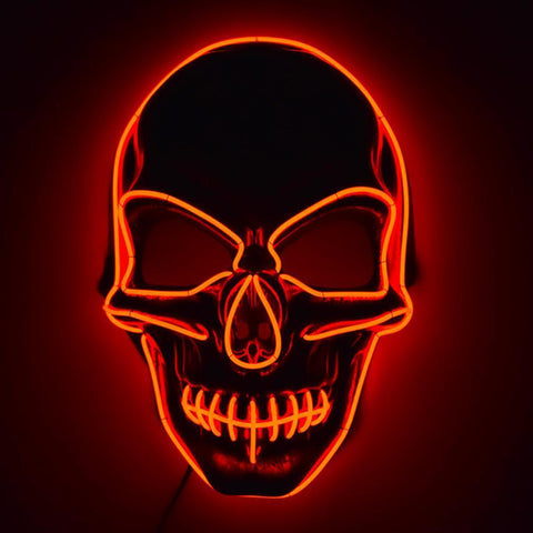 All For Hobbies LED Skull Mask