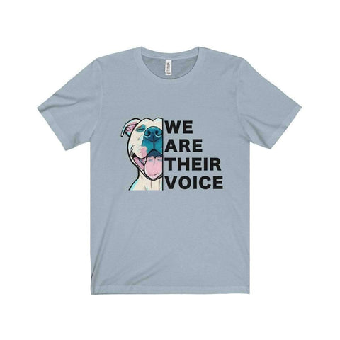 Image of All For Hobbies Light Blue / XS We Are Their Voice Tee