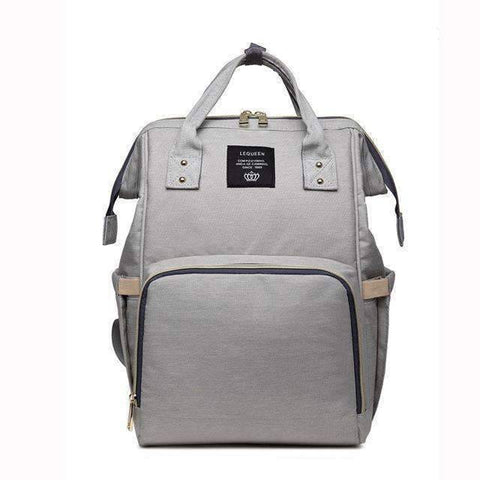 Image of All For Hobbies light gray Baby Diaper Backpack