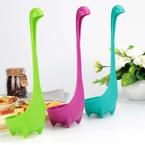 Image of All For Hobbies Loch Ness Monster Ladle - Nessie Ladle