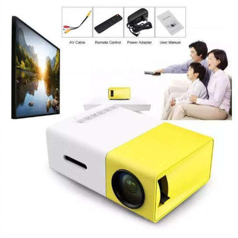 All For Hobbies Mini Portable Projector