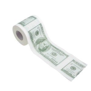 All For Hobbies Money Toilet Paper Roll