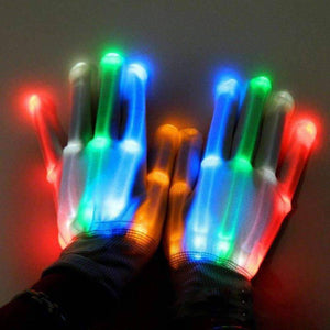 LED Rave gloves