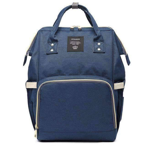 Image of All For Hobbies navy Baby Diaper Backpack