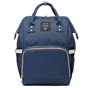 All For Hobbies navy Baby Diaper Backpack