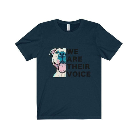 Image of All For Hobbies Navy / XS We Are Their Voice Tee