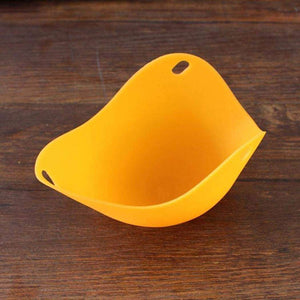 All For Hobbies Orange Silicone Egg Poacher Cups (Set of 2)