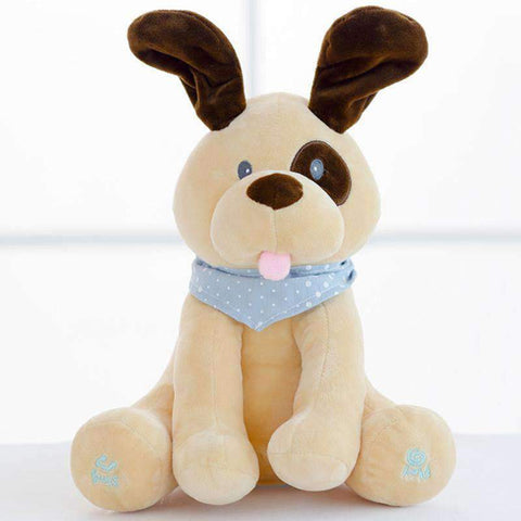 Image of All For Hobbies Peek a Boo Puppy Plush