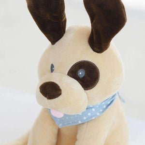 All For Hobbies Peek a Boo Puppy Plush