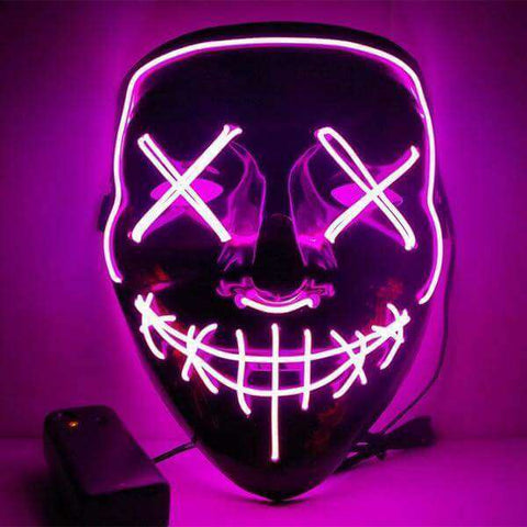Image of All For Hobbies Pink LED Purge Mask
