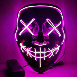 All For Hobbies Pink LED Purge Mask