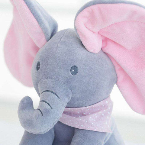 Image of All For Hobbies Peek a Boo Elephant Plush