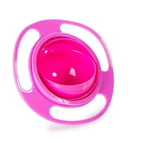 All For Hobbies Pink Spill Proof Bowl