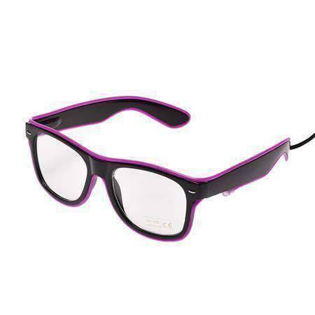 All For Hobbies Purple LED Glasses