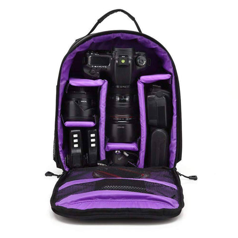 Image of All For Hobbies Purple Ultimate Camera Backpack