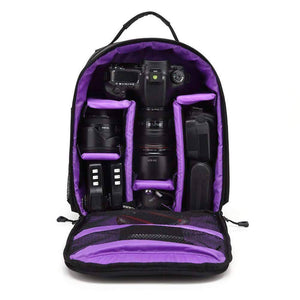 All For Hobbies Purple Ultimate Camera Backpack