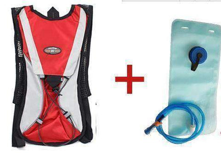 All For Hobbies Red add 2L bag Water Backpack