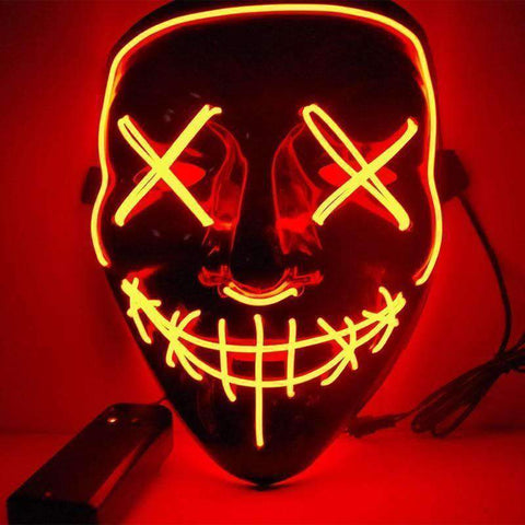 Image of All For Hobbies Red LED Purge Mask